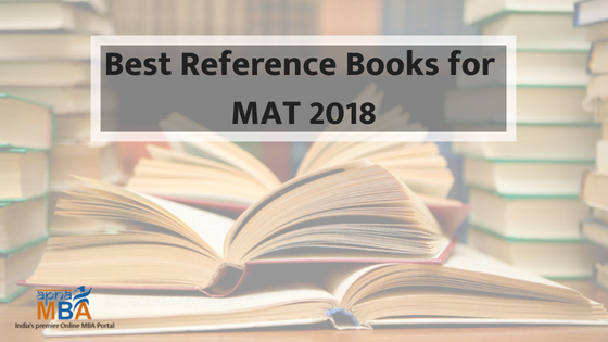 Best Reference Books for MAT 2018