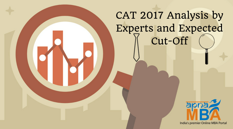 CAT 2017 Analysis by Experts and Expected Cut-Off