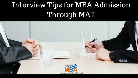 Interview Tips for MBA Admission Through MAT