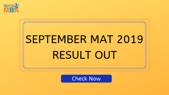 September MAT result