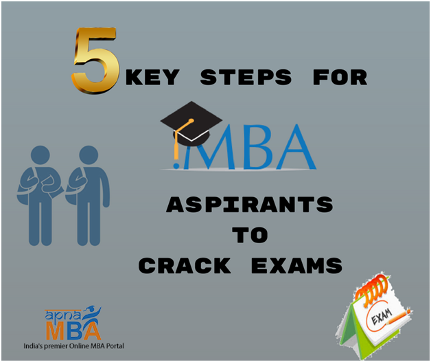 5 Key Steps for MBA Aspirants To Crack Exams